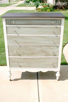 Thrifty Inspirations: My First Antique Dresser -