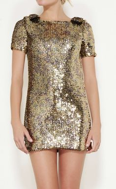 Wayne Gold And Amethyst Dress