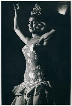 Sam Shaw, Flamenco dancer, 1968