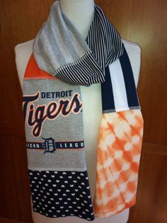 Upcycled tshirt, this would be another cool item to make for baseball season.