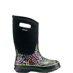 Bogs are the cutest and keep their feet dry =)