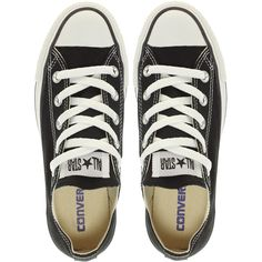 Converse All Star Ox Trainers ($63) ❤ liked on Polyvore