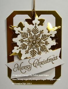 Stampin' Up! Christmas by Stamping with Julie Gearinger: