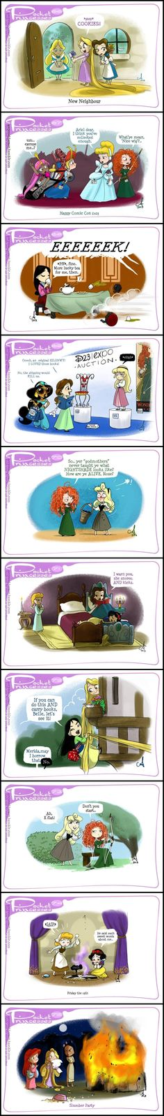 Pocket Princesses (Part 7) by Amy Mebberson