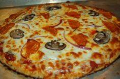 Cauliflower Pizza Crusts! Low-carb recipe, whole foods, keto recipe, gluten free, grain free from www.jubileejulie.com
