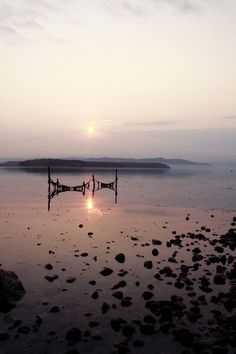 Lummi island sunrise, San Juan Islands