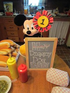 """Photo 1 of 24: Mickey Mouse / Birthday """"Mickey Mouse 1st Birthday""""   Catch My Party"""