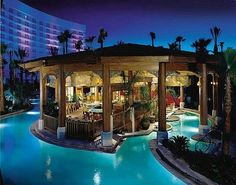 """Rehab"" pool, Las Vegas Hard Rock Hotel"