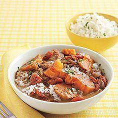 Slow-Cooker Peanut-Sweet Potato Stew | MyRecipes.com