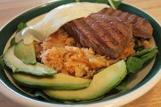 kimchi fri, game reciep, fork, fri rice, food, drink, venison kimchi, fields, fried rice