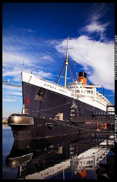 Queen Mary Tour -  Long Beach, California