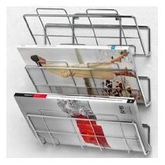 Spectrum 3-Tier Wall-Mount File Holder and Magazine Rack  bySpectrum 11 x 5.5 x 14 inches ; 1.7 pounds  4.6 out of 5 starsSee all reviews(8 customer reviews) | Like (5)  List Price:$20.99  Price:$14.99