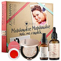 Josie Maran - Argan Matchmaker Complexion Kit  in Light/ Medium #sephora