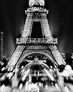 ~ c'est magnifique ~                            Eiffel Tower By Night by C.Fredrickson Photography, via Flickr