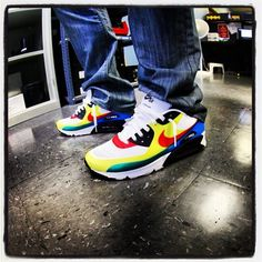 """Nike Air Max 90 Hyperfuse Olympic """"What The Max"""""""