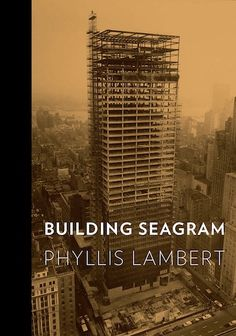 The #Seagram building on Park Avenue in New York City is considered one of the greatest icons of 20th century #architecture and was commission by Samuel Brofman. His daughter, Phyllis Lambert, wrote Building Seagram as a comprehensive, personal and scholarly history of this major building, along with its architectural, cultural and urban legacies.