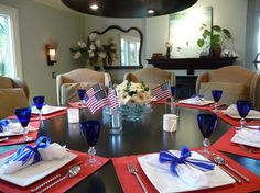 4th Of July - traditional - Dining Room - San Diego - Robeson Design