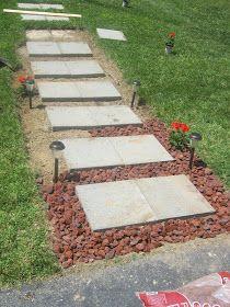 paint speckl, walkway reveal, diy sidewalk ideas, walkways, diy sidewalks, backyard, paints, garden, speckl pawprint