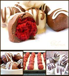 Red Velvet Cupcake Balls