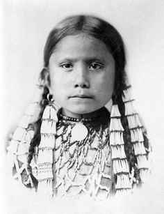Standing Holy, the daughter of the medicine man Sitting Bull.