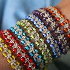 @Ann Konzen Macrame bracelet