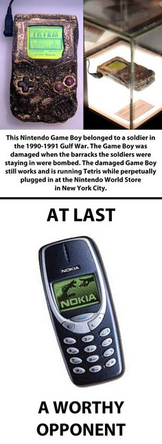 Nokia vs. Nintendo Game Boy...