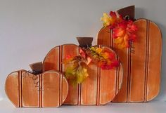 bead board pumpkins - @Jennifer Western, these would be cute for craft night!