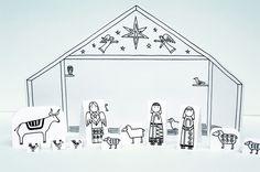 Made by Joel » Paper City Nativity Scene (Joyfully Expanded!)
