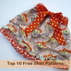 skirt free patterns roundup #free #sewing #pattern