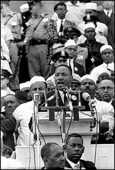"MLK Jr's iconic ""I Have a Dream"" speech"