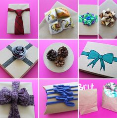 10 unconventional gift bow ideas