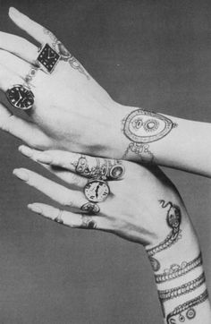 """an idea to add detail to our hands even if they aren't the central focus of any picture... just something cool for the people who really look at the photo and happen to """"discover"""" the hidden things"""