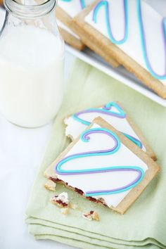 Homemade poptarts - might be worth trying, since we don't buy poptarts anymore