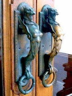 40 unusually creative external door handles   Curious, Funny Photos / Pictures
