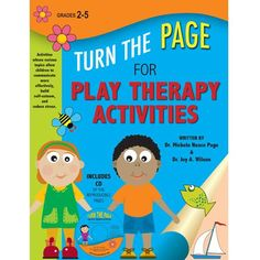 Turn The Page For Play Therapy Activities work, playtherapi, play therapi, kid idea, counsel resourc, play therapy activities, school counselor, counsel book, therapi activ