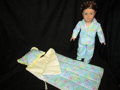 "Sleeping Bag for 18"" Doll"