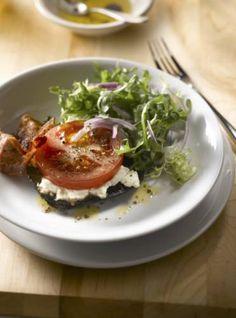 Portabella Bacon Lettuce Tomato Salad   Mushroom Info