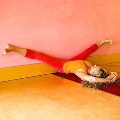 Yoga for Runners: Reclined Wide Angle Pose