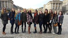 Women's Studies group in Versailles.