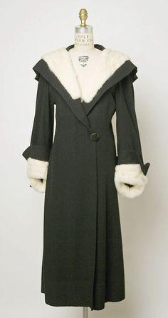 Coat Madeleine Vionnet, 1933 The Metropolitan Museum of Art