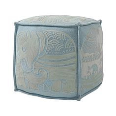Serena and Lily elephant pouf