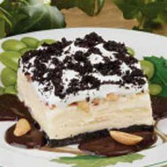 Fudgy Ice Cream Dessert