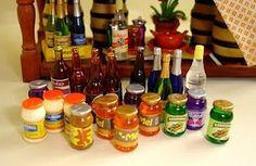 Mini treasures wiki / Miniature bottle projects