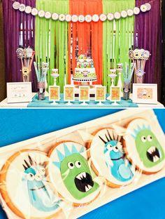 Monster Themed First Birthday
