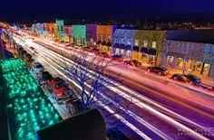 Rochester MI/ Big Bright Light Show/ Main Street, Rochester.
