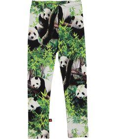 Molo funky legging met panda print #emilea