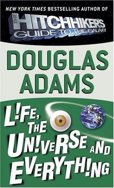 And my love affair with Douglas Adams continued...