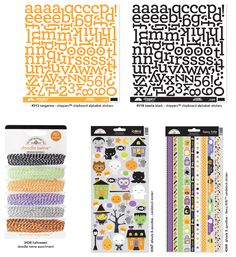 Halloween Line 2014 from Doodlebug Design's Summer Release Sneak Peek