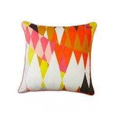 Croc (Orange) Cushion Cover by Kip