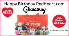 Celebrate RedHeart.com's Birthday with a Giveaway!